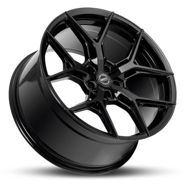 GT Form Torque gloss black wheels performance rims