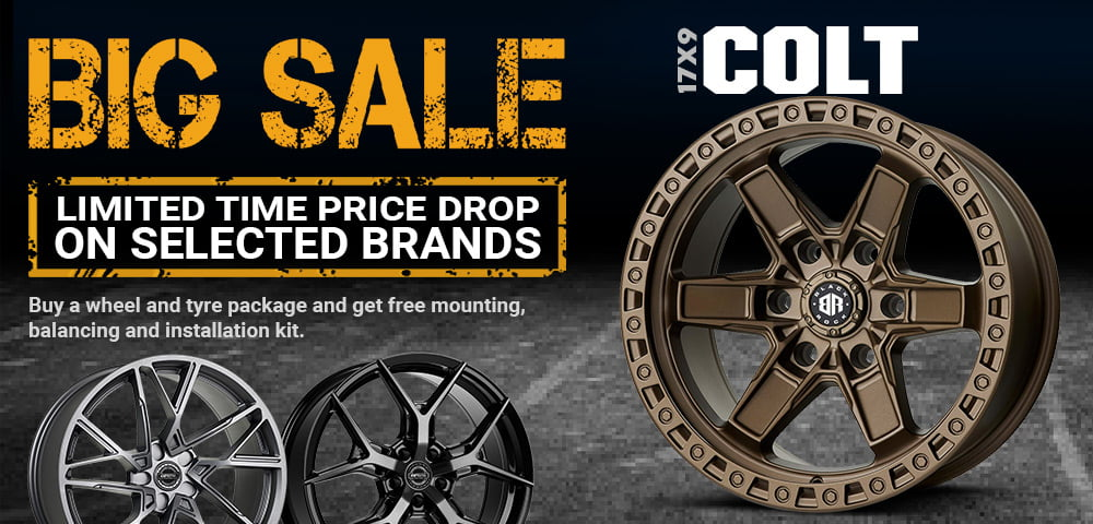 alloy wheel and tyre package 4x4 rims offroad wheels